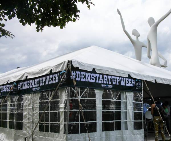 Art & Posters - Denver Startup Week Tent Banners