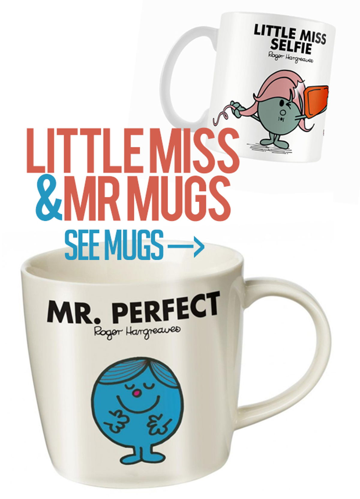 Check out Mercuri's wide selection of Mugs