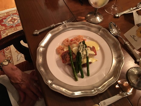 Dinner at Your Home Prepared by Chef Tim McCaw, with Wine