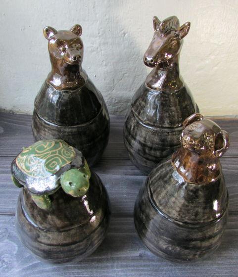 """Набор керамических банок """"Хранители Лучей"""""""
