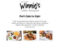 Chef's Table for 8 at Winnie's in Manayunk