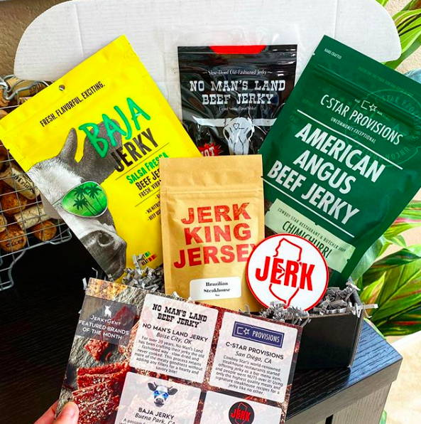 JerkyGent Beef Jerky Subscription Gift Box