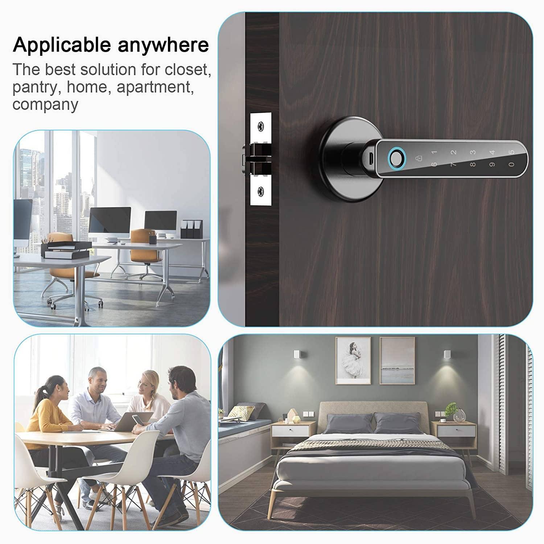 finger scanner door lock door knob with fingerprint smart glass door lock smart door lock with fingerprint finger scanner lock thumbprint door handle