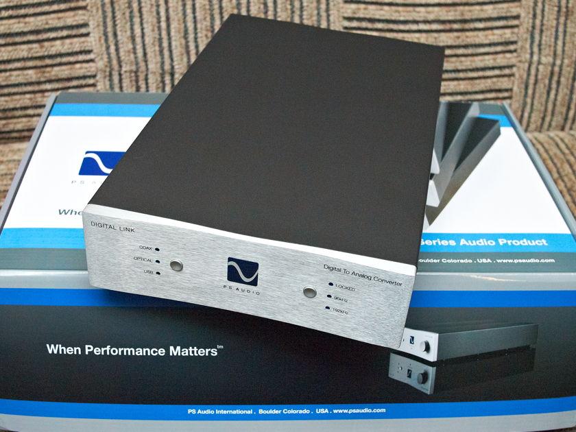 PS AUDIO Digital Link III 192kHz DAC, XLR, RCA, SPDIF, Tosslink, USB
