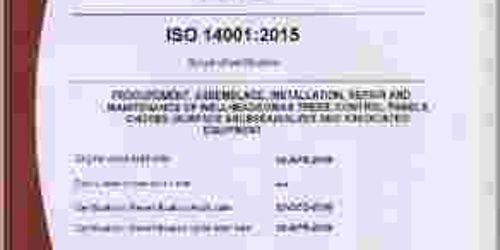 DIVINE FLAME & ENERGY INTERNATIONAL LTD  IMS (QMS & EMS) CERTIFICATION