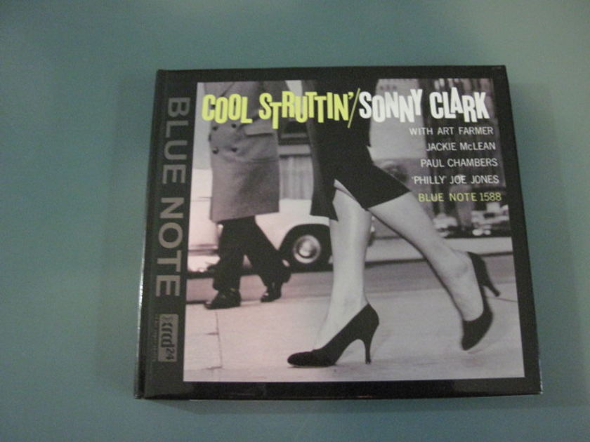 """Sonny Clark """"Cool Struttin'"""" Audio - Wave/XRCD24.  In Like New Condition."""