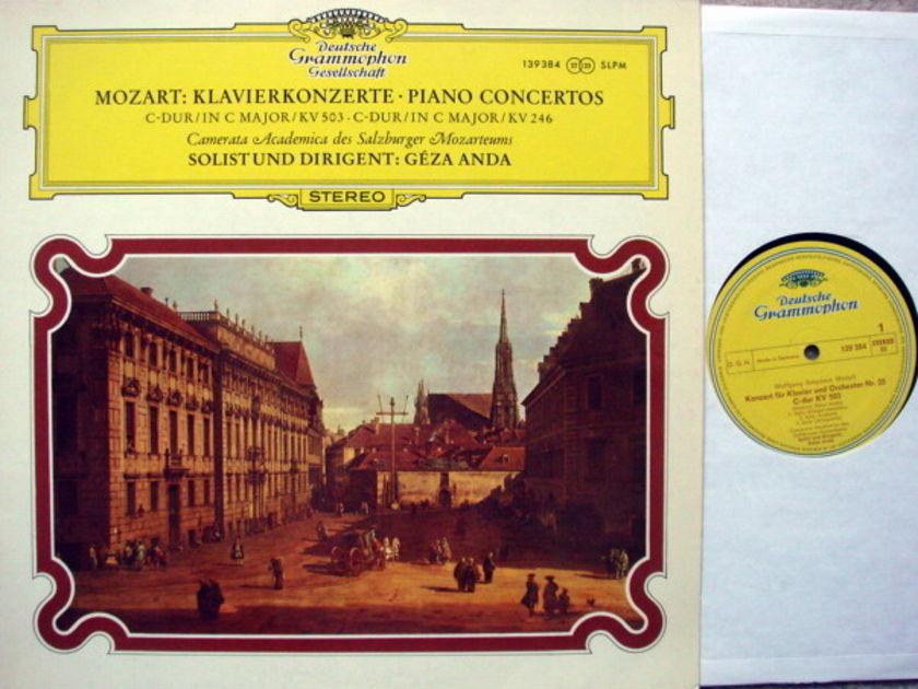 DGG / GEZA ANDA, - Mozart Piano Concerto No.8 & 25, NM!