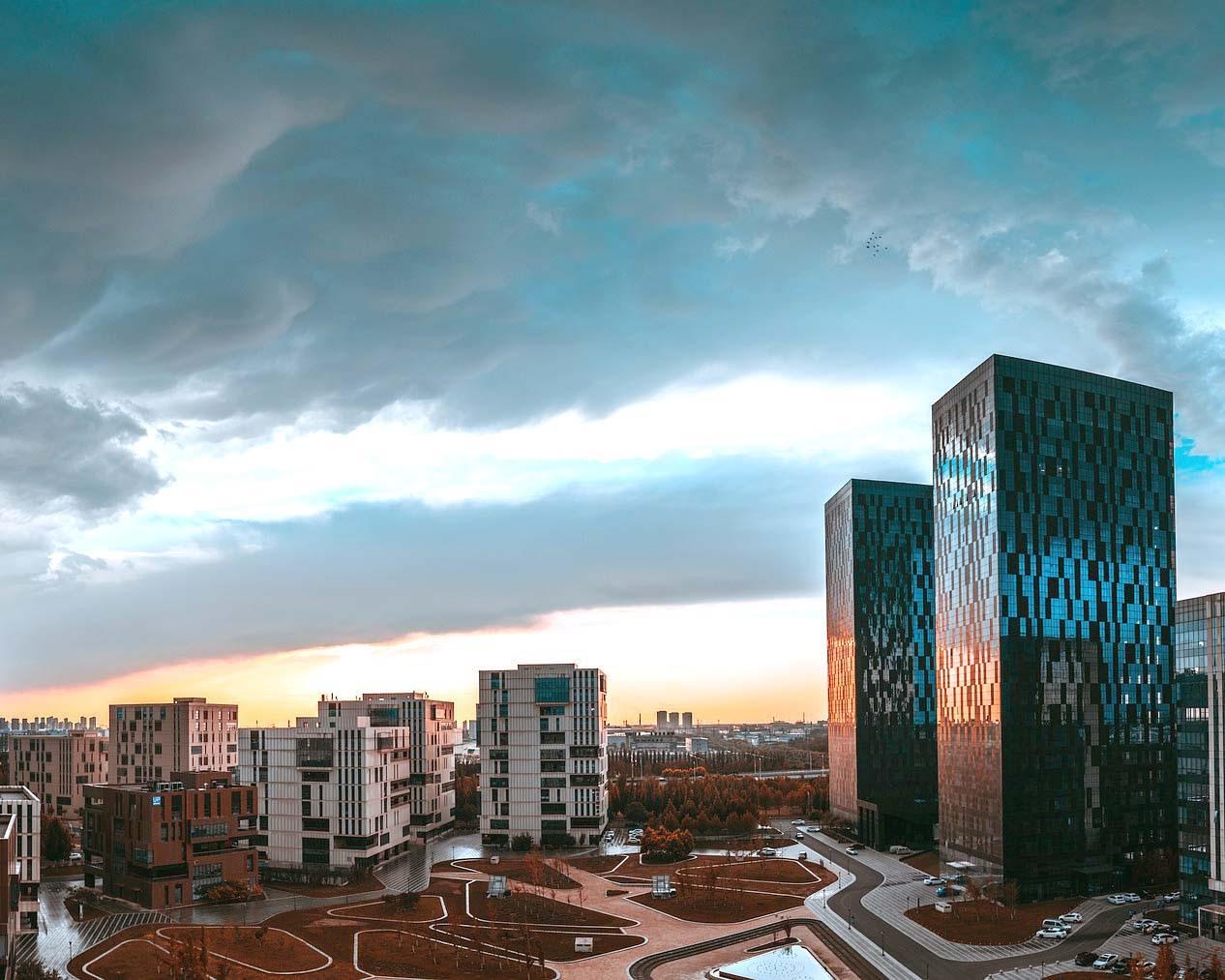 Tianjin Factory Landscape