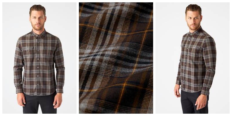 Phoenix Double Pocket Flannel Shirt