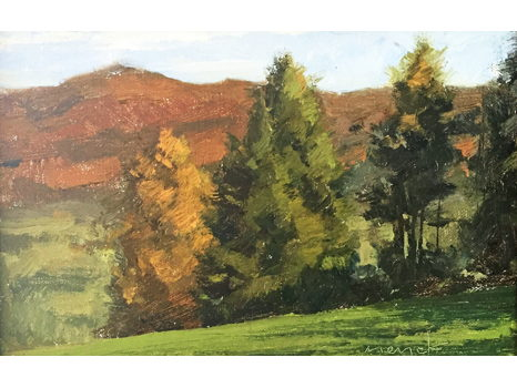 """View of The Smokies"" by Artist Kevin Menck"