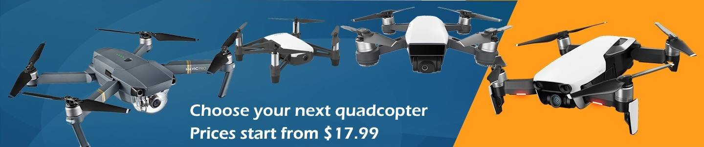 wide selection of cheap quadcopters and drones