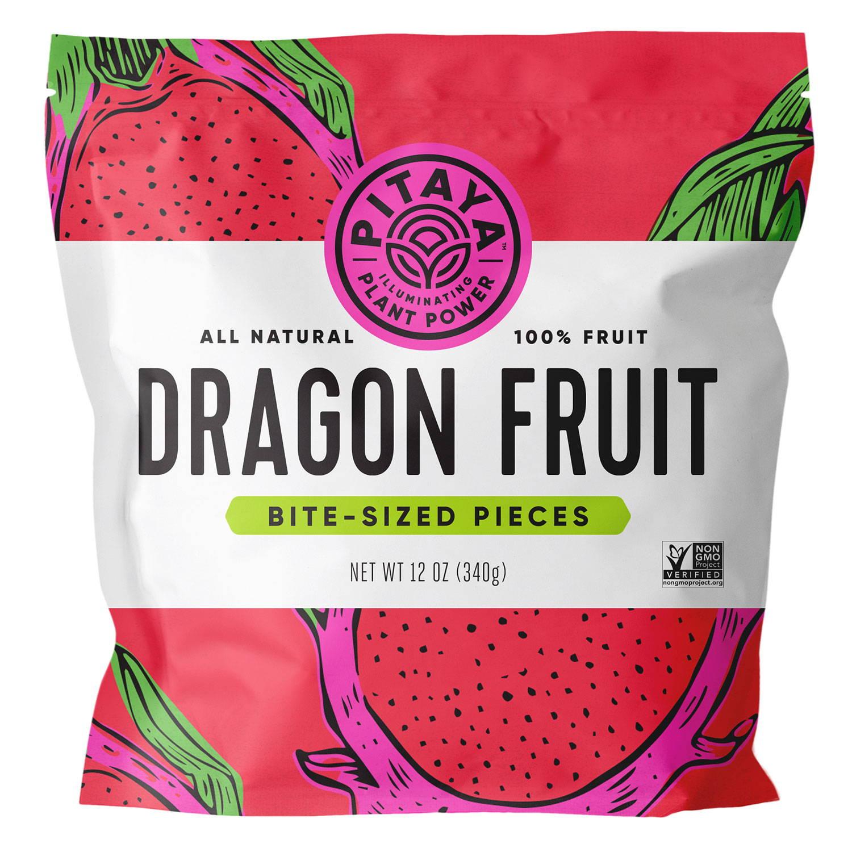 Pitaya Natural Dragon Fruit Cubes