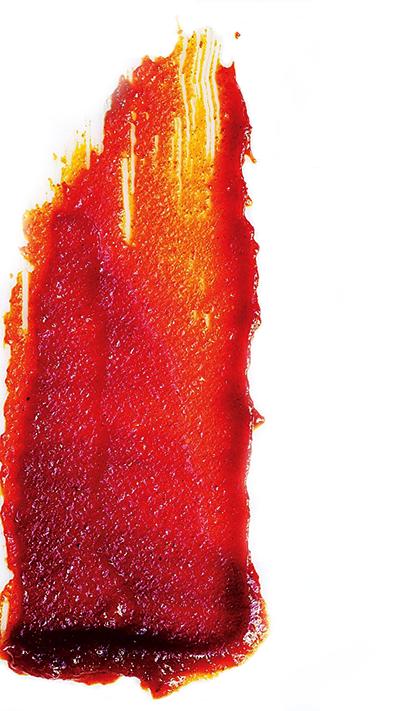Gochujang is Korean chili paste, the primary ingredient in KPOP sauce