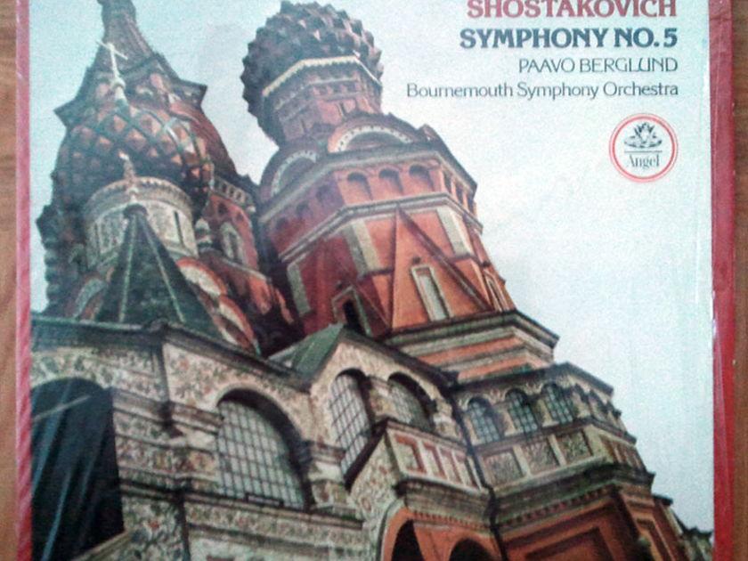 ANGEL | BERGLUND/SHOSTAKOVICH - Symphony No. 5 / NM