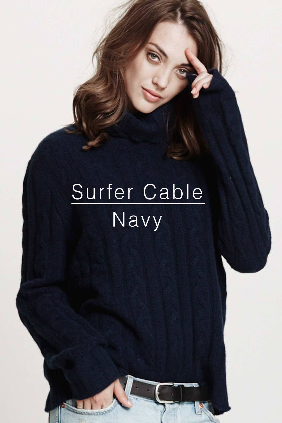 Surfer Cable Navy