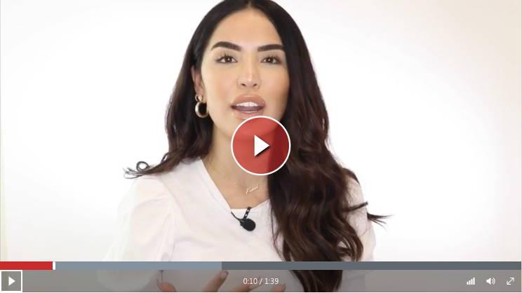 Watch video of Beauty Guru influencer