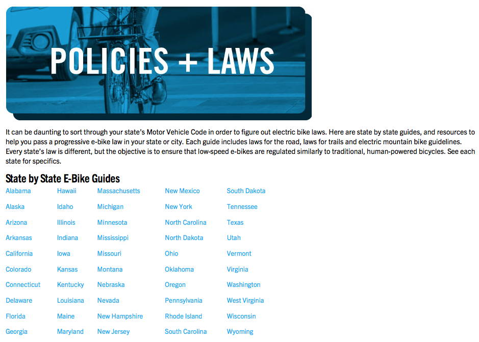 policies and laws