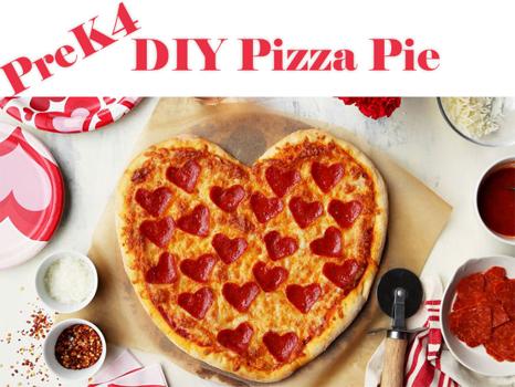 PreK4 Only: DIY Pizza Pie
