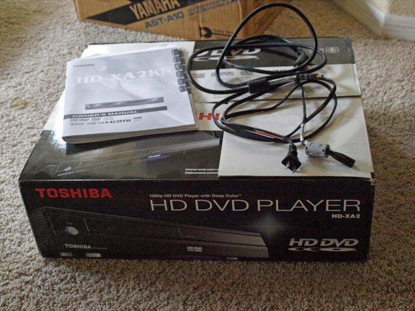 Toshiba High Definition HD-XA2  DvD Player & HD Movies