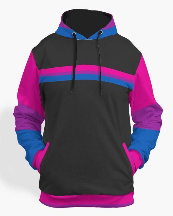 bi pride hoodie