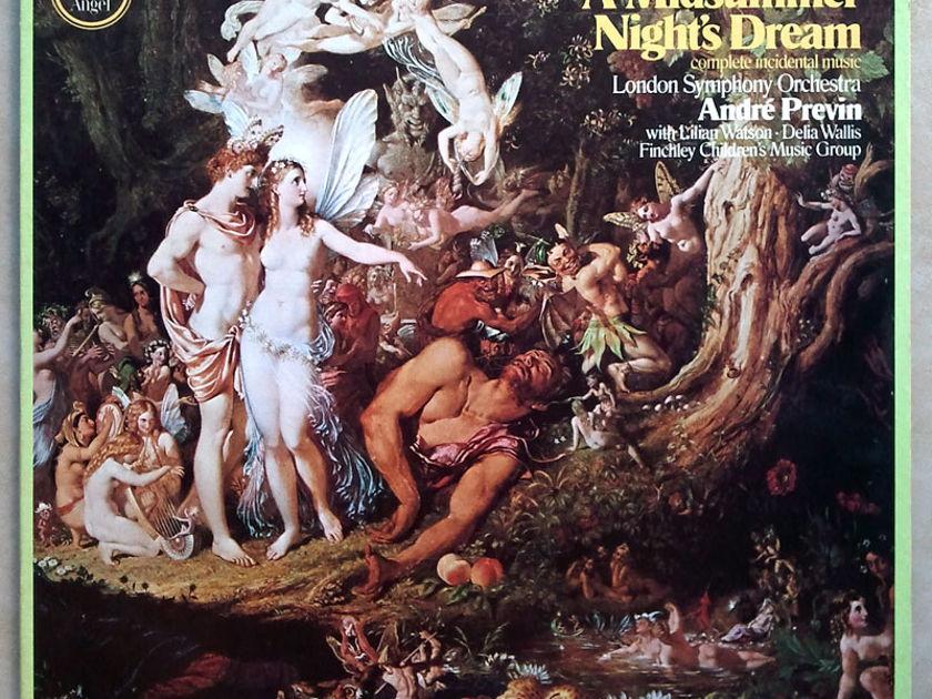 Angel/Previn/Mendelssohn - A Midsummer Night's Dream (complete) / NM