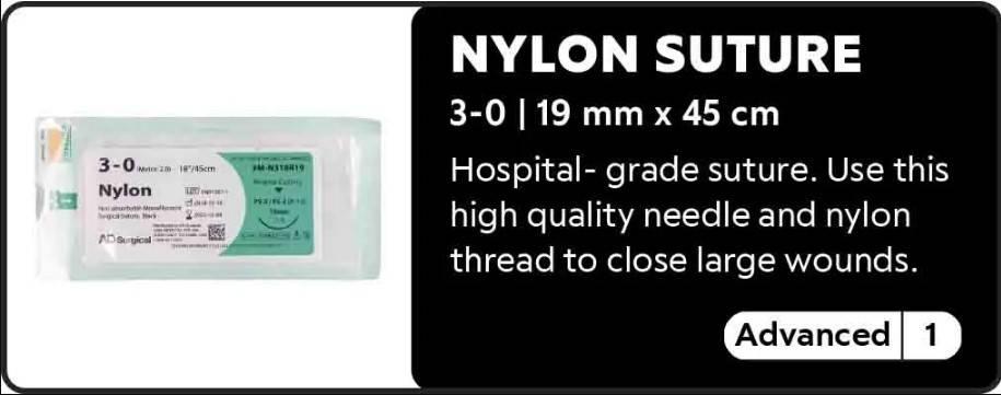 Nylon Suture 3-0