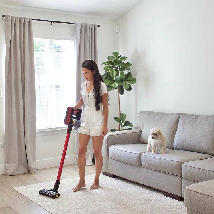 Cordless handheld vacuum