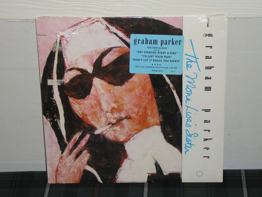 Graham Parker  - The Mona Lisa's Sister LP   Still SEALED/NEW.BMG 8316-1. From 1988.