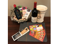 Wine and Chocolate Lover Basket