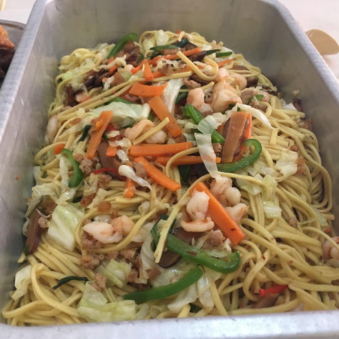 Fried Longevity Noodles@ Sau Mien