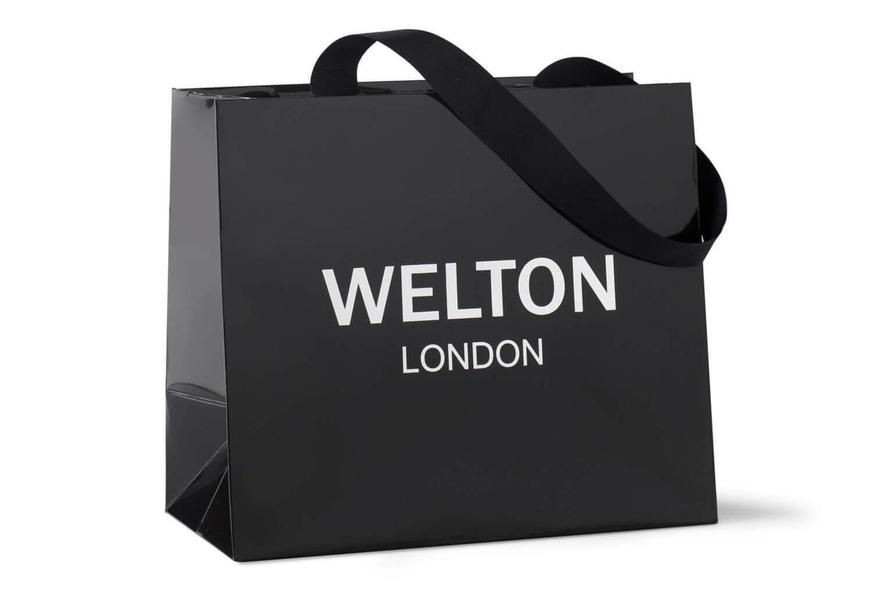 complimentary Welton London Shopping Bag