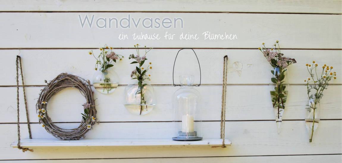 Startseite Wandvasen ein zuhause für deine Blumen