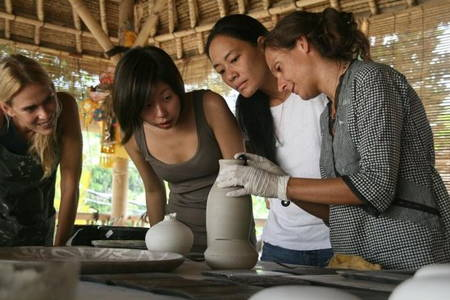 Half day Ceramic Class and Temple Tour
