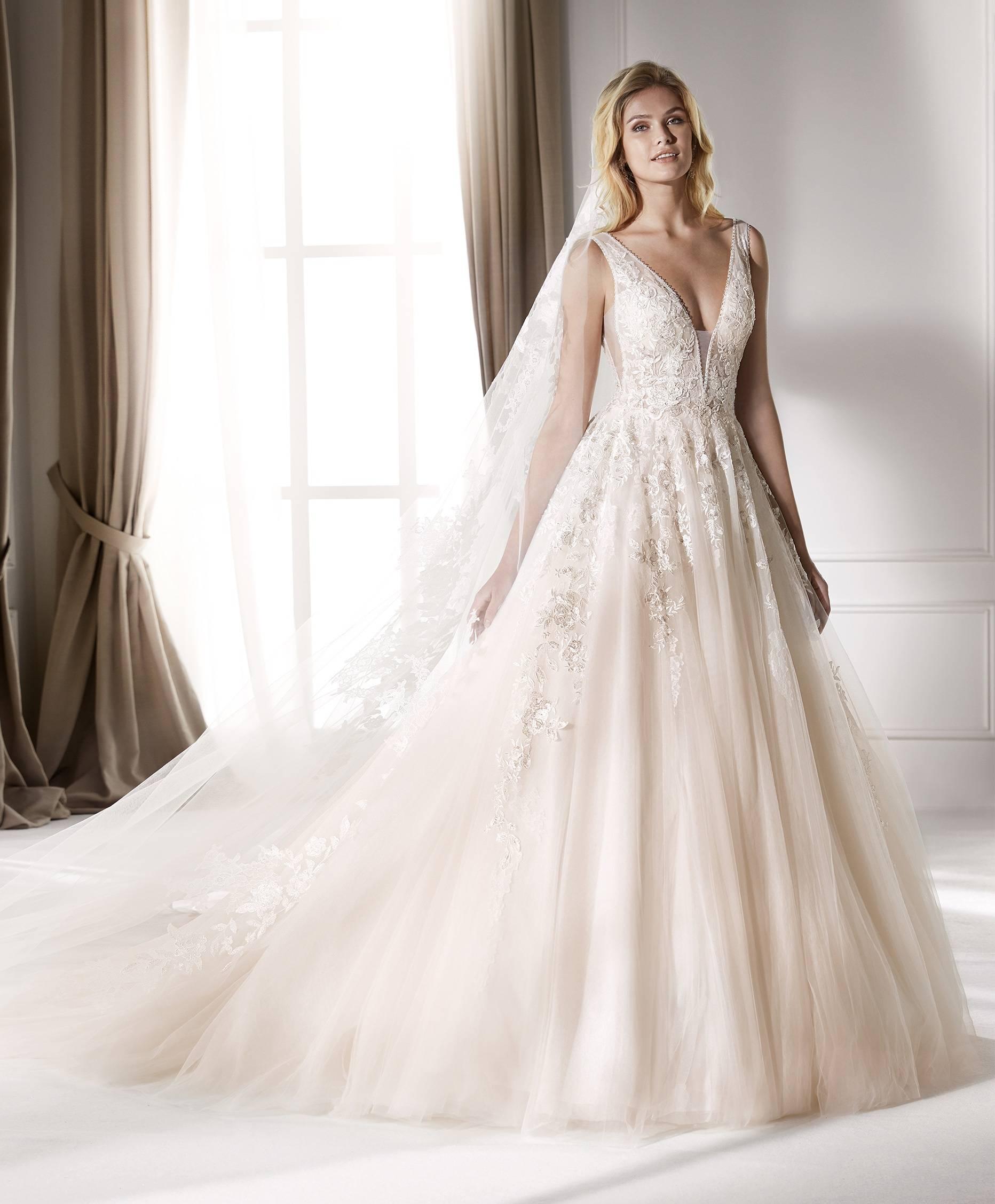 NICOLE MILANO NIA20221 WEDDING DRESS