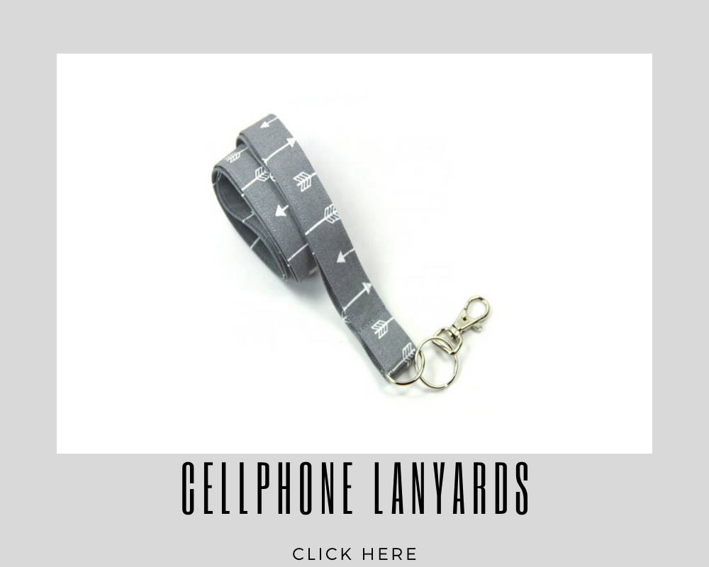 Cellphone Custom Corporate Lanyards