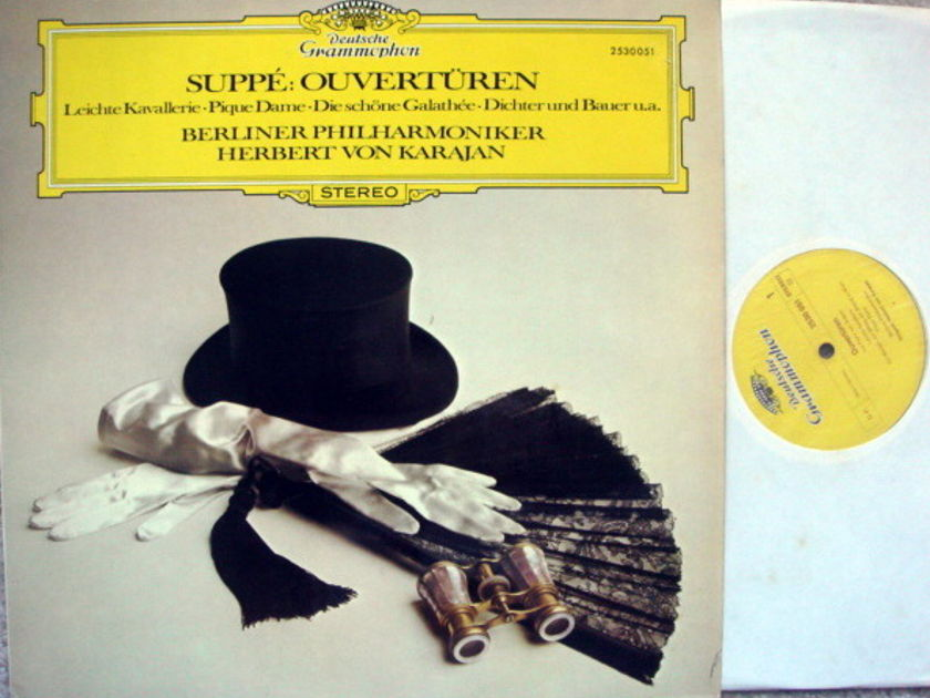 DG / KARAJAN-BPO, - Suppe Overtures, NM!