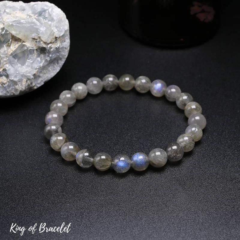 Bracelet de Lithothérapie en Labradorite - King of Bracelet