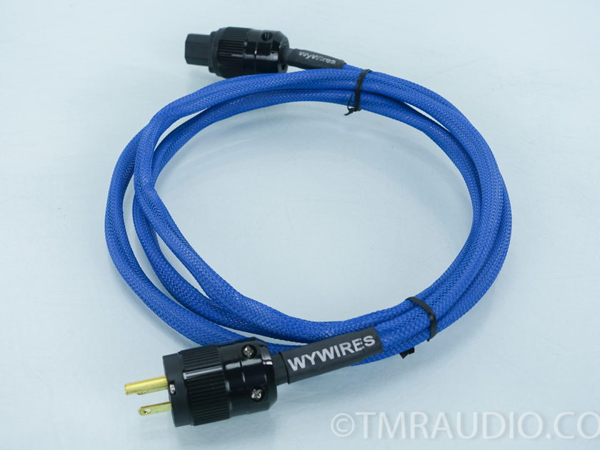 WyWires  Blue Juice II  10' Power Cable; Blue   (7810)