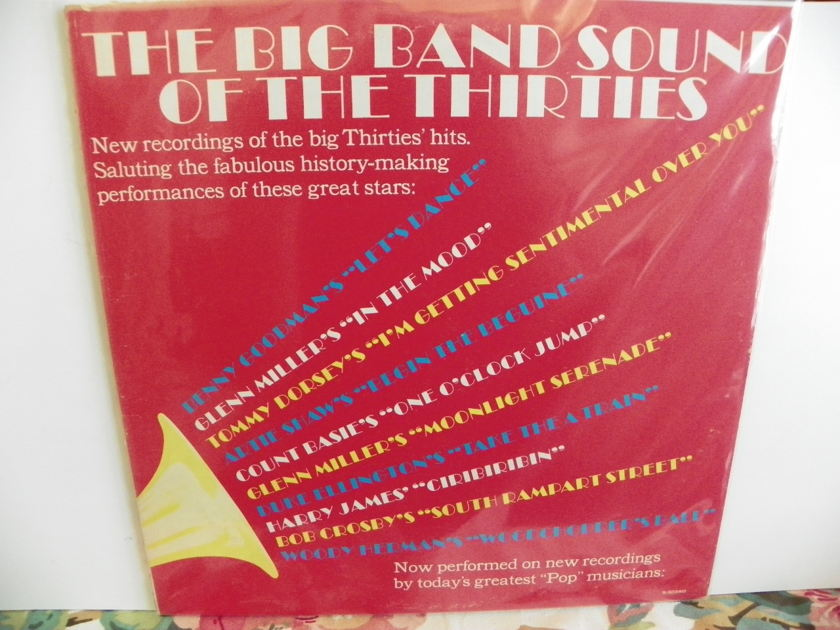 VARIOUS PERFORMERS - THE BIG BAND SOUND OF THE THIRTIES Produced by Enock Light/Price Reduction