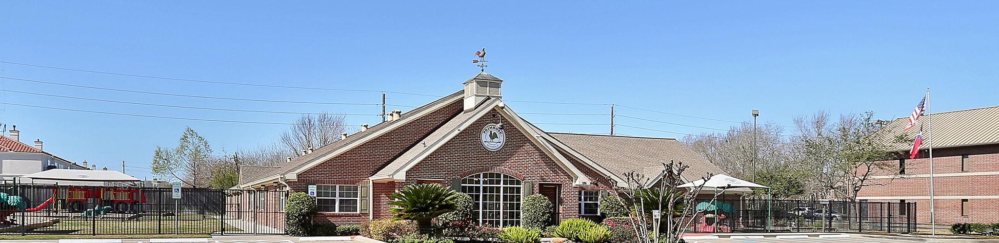 Exterior of a Primrose School of Eldridge Parkway