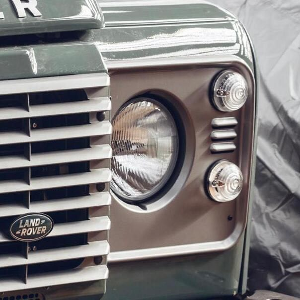 DEFENDER HEADLIGHTS PAIR WITH BULBS's featured image