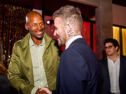 Sintra - When David Beckham extends an invitation to a party, the celebrities turn out in droves. Around 200 guests took part in the event, © Infinite Creations
