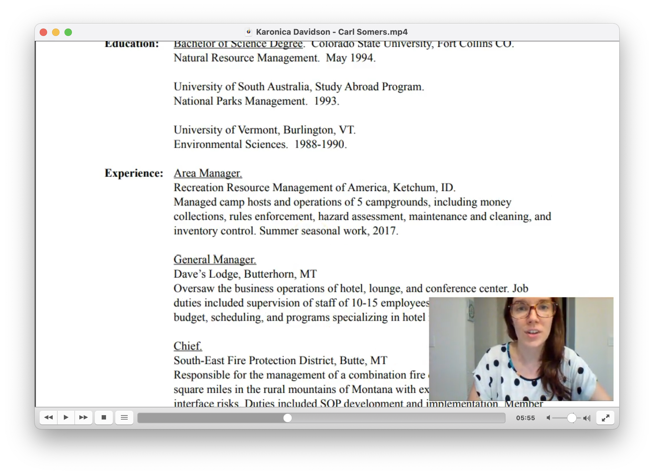 resume review process
