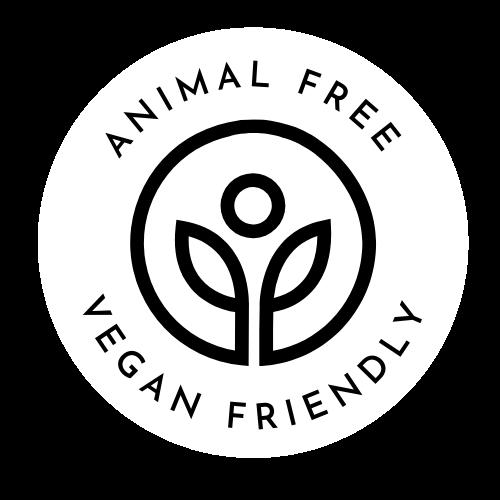 Animal Free Vegan Friendly Logo