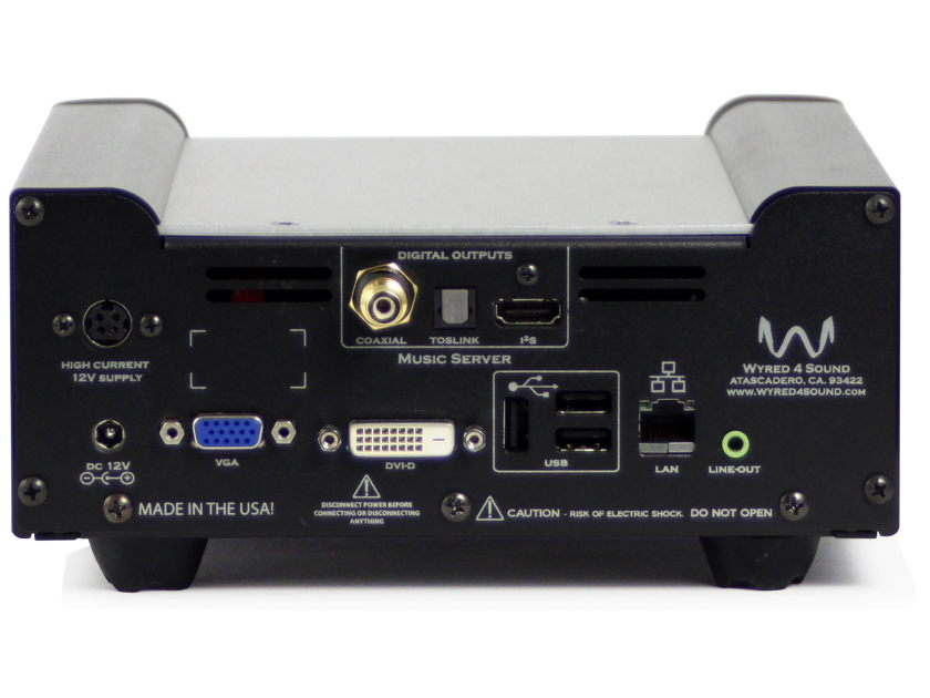 Wyred 4 Sound Music Server MS-2 24 bit/ 192 kHz streaming solution