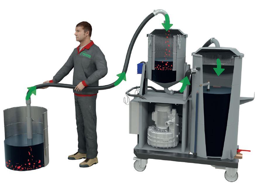 Oil vacuum 01