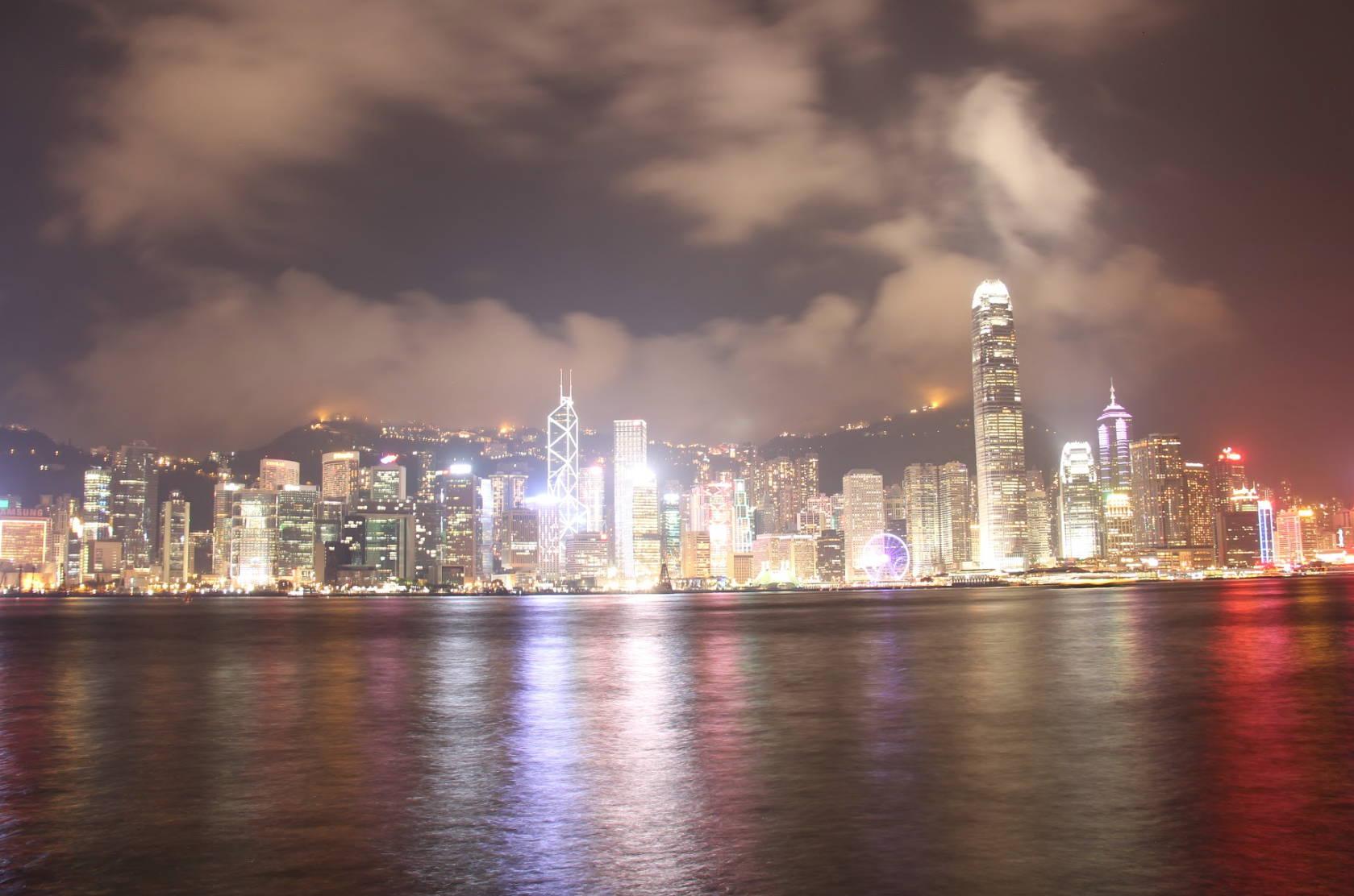 City view of Hong Kong in china