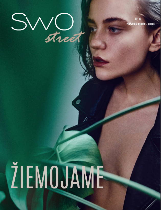 Green Bee Botanicals on the cover of SwO Magazine - New Leaders of the Clean Beauty Movement