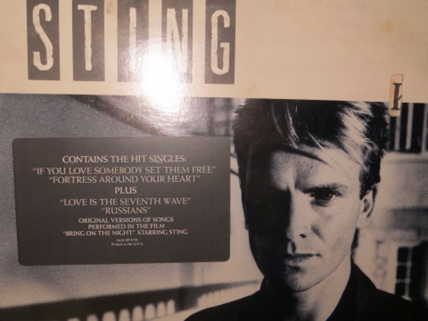 STING - DREAM OF THE BLUE TURTLES SHRINK STILL ON COVER