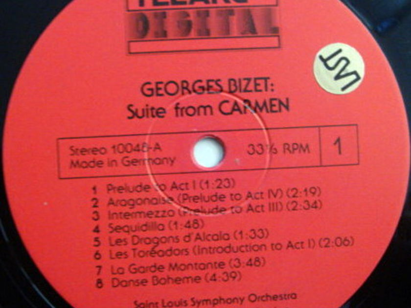 ★Audiophile★ Telarc / SLATKIN, - Bizet Carmen Suite, Grieg Peer Gynt, MINT!